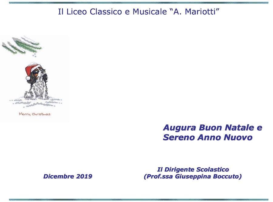 Scambio Auguri Di Natale.Incontro Di Natale E Scambio Auguri Natale Liceo Classico E Musicale Annibale Mariotti